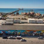 "Se inaugura el mural ""Vida Portuaria"""