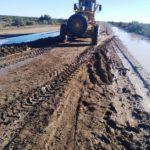 Vialidad Provincial trabaja para mejorar el estado de la Ruta Nº 1