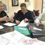 Luz y Fuerza de la Patagonia firmó acuerdos por obras en Trelew, Madryn y Rawson