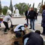 Sastre: «Dentro de poco los madrynenses podrán ver una Plaza Central totalmente mejorada»