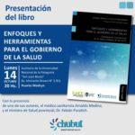"""Puerto Madryn: Invitan a la presentación del libro """"Enfoques y Herramientas para el Gobierno de la Salud"""""""