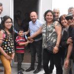 Entrega de viviendas a los afiliados de la UOM