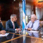 Arcioni se reunió con el Ministro de Salud de la Nación, Ginés González García