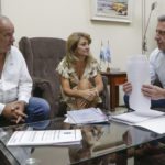 Arcioni se reunió con autoridades del IPV para ultimar detalles del Plan de Créditos de Viviendas que lanzará el Gobierno del Chubut