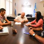 Sastre firmó inicio de obra para la ampliación del CPI Laurita Vicuña