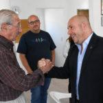 Sastre visitó la Asociación Víctimas de la Delincuencia