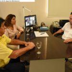 El Intendente se reunió con miembros de la empresa Intermares