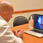 El Ministro de Desarrollo Social de Nación en videoconferencias con el Intendente Gustavo Sastre