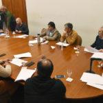 Arcioni encabezó una reunión para avanzar en el Plan de Flexibilización de la cuarentena