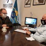 Sastre gestionó fondos para obras ecológicas en la ciudad