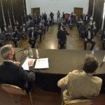 Arcioni firmó un convenio marco y el Gobierno Provincial coparticipará 350 millones entre todos los municipios y comunas rurales