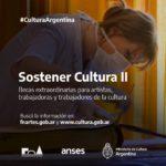 """La Secretaría de Ciencia y Cultura de la Provincia invita a inscribirse en el Programa de Becas """"Sostener Cultura II"""""""