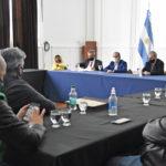 El Gobierno de la Provincia mantuvo una reunión con distintos gremios de la Salud