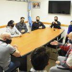 Sastre se reunió con los representantes de los gimnasios