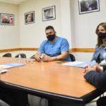 Sastre avanza en una agenda local para fortalecer la lucha contra la Trata