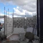 Bomberos Madryn amplía su cuartel construyendo aula de capacitación