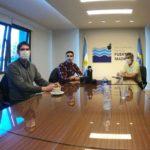 Autoridades nacionales de pesca visitaron el Puerto de Madryn