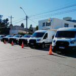 Se incorporaron cinco nuevos vehículos utilitarios